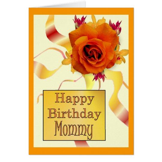 Happy Birthday Mommy Card