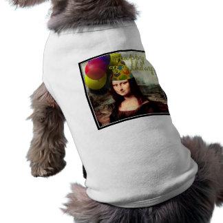 Happy Birthday Mona Lisa T-Shirt