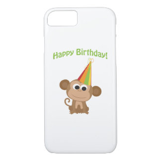 Happy Birthday Monkey iPhone 8/7 Case