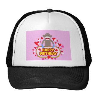 Happy Birthday Monkey. Trucker Hat