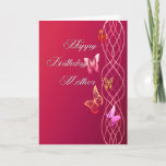 "Happy Birthday Mother Card<br><div class=""desc"">Decorative birthday card for mother.</div>"