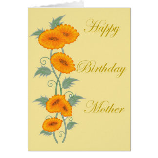 Happy Birthday Mother Card