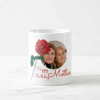 Happy Birthday mother in law custom photo mugs