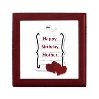 Happy Birthday Mother Love Notes Cards and Gifts Gift Box