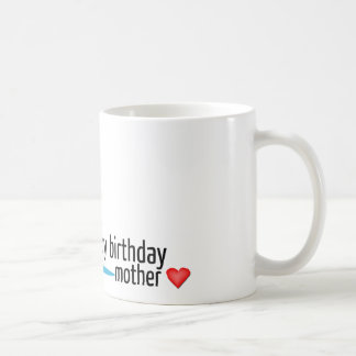 Happy birthday mother mug