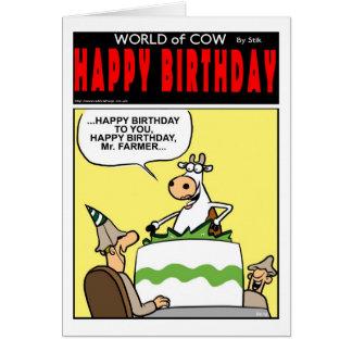 Happy Birthday Mr Farmer! Card