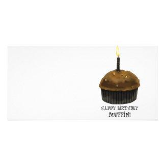 Happy Birthday Muffin Card