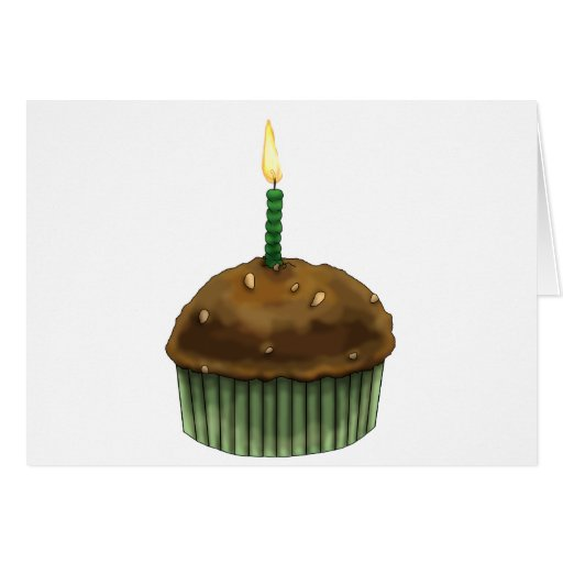 Happy Birthday Muffin Cards