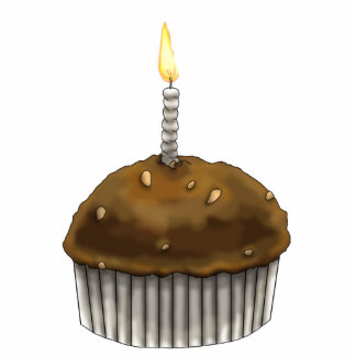 Happy Birthday Muffin Cutout