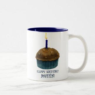Happy Birthday Muffin Mugs