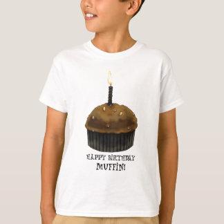 Happy Birthday Muffin T-Shirt