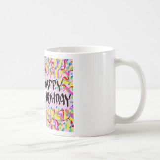 Happy birthday classic white coffee mug