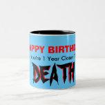 """Happy Birthday """"Mug"""""""