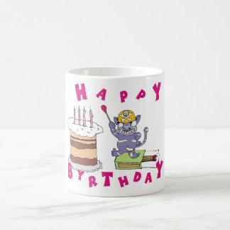 Happy Birthday! Classic White Coffee Mug