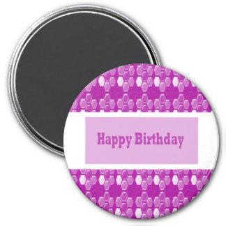 HAPPY Birthday n BLANK easy to add TEXT GREETINGS Fridge Magnets