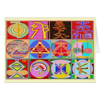 Happy Birthday n Reiki Healing Cards