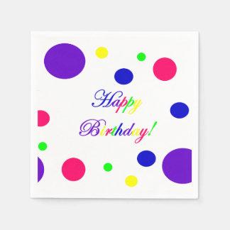 Happy Birthday! Napkins