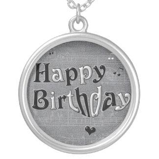 Happy Birthday Necklace