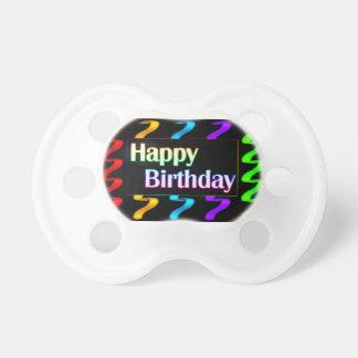 Happy Birthday New Baby Pacifier
