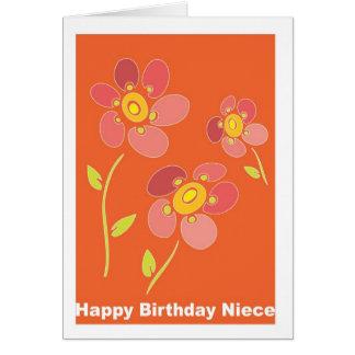 Happy Birthday Niece Card
