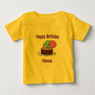 Happy Birthday Nonna Italian Grandma Birthday Desi Baby T-Shirt