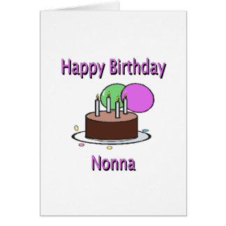 Happy Birthday Nonna Italian Grandma Birthday Desi Cards
