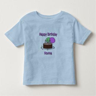 Happy Birthday Nonna Italian Grandma Birthday Desi Toddler T-shirt