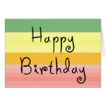 happy birthday notecard stationery note card