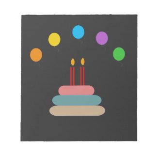 Happy Birthday Notepad