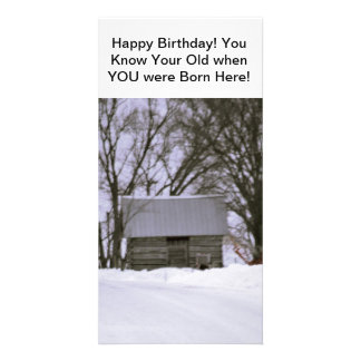 Happy Birthday Old Fart! Picture Card