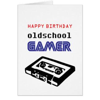 Happy Birthday oldschool Gamer Card