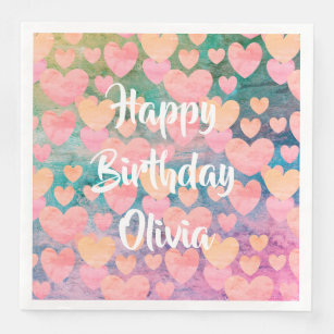 Happy Birthday Olivia Gifts On Zazzle