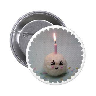Happy Birthday Onigiri - Button