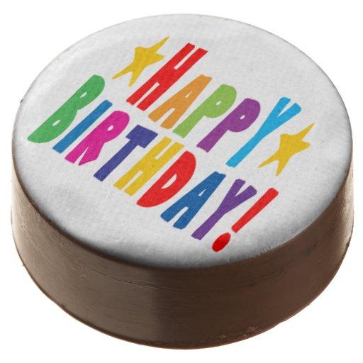 Happy Birthday Oreo Cookies Chocolate Dipped Oreo