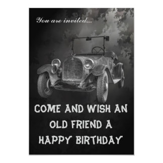 HAPPY BIRTHDAY - OVER THE HILL CARD