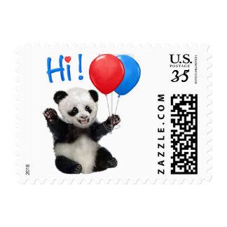 HAPPY BIRTHDAY PANDA POSTAGE