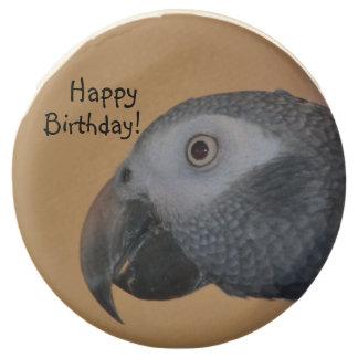 Happy Birthday Parrot Chocolate Dipped Oreo