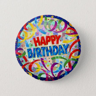 Happy Birthday Party Button