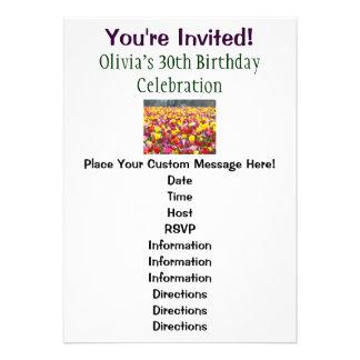 Happy Birthday Party Invitations Her 30th Birthday