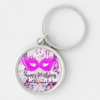 Happy Birthday Party Keychain