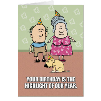 Happy Birthday - Party People Cards