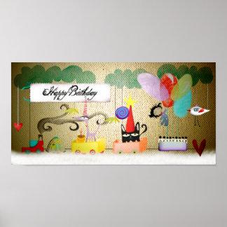 Happy birthday party print
