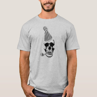 Happy Birthday Party Skull T-Shirt