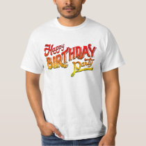 Happy Birthday Party T-Shirt