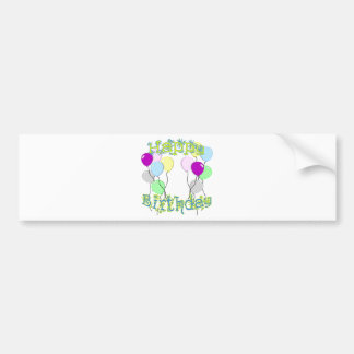 Happy Birthday - Pastel D6 Bumper Sticker Car Bumper Sticker