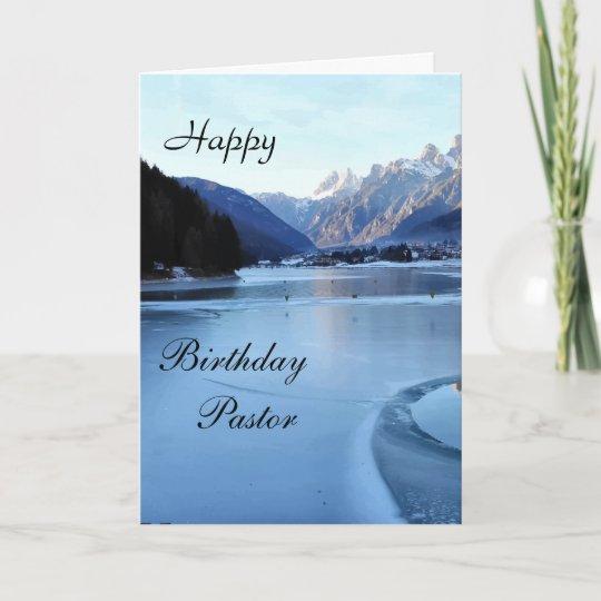 Happy Birthday Pastor Card Zazzle