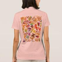 Happy Birthday Pattern Illustration Polo Shirt