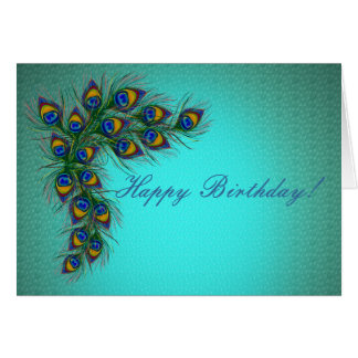 Peacock Happy Birthday Gifts - T-Shirts, Art, Posters & Other Gift Ideas | Zazzle