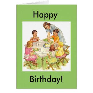 Happy Birthday Picnic, Happy, Birthday! Card