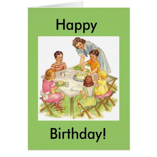 Happy Birthday Picnic, Happy, Birthday! Cards